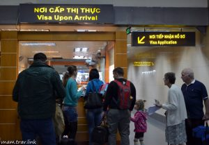 """Visa On Arrival"" office in Old Terminal – Noi Bai Int'l airport (in Hanoi city)"